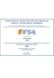 International Federation for the surgey of obesity and metabolic disorders