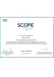SCOPE — Strategic Centre for Obesity